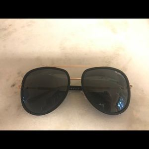Quay Needing Fame Aviator Sunglasses
